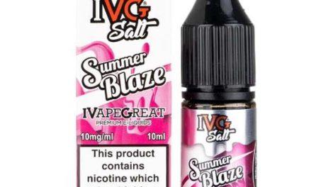 Summer Blaze Salt Nicotine E-Liquid by IVG Salt Review